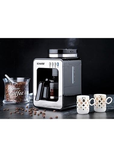 Schafer Barista Kahve Makinesi Siyah